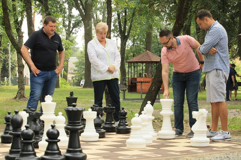 шахматы в парке Дубки