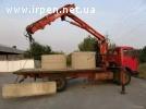 Аренда,услуги крана-манипулятора 5-10 тон