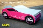 Кровать-машина Nissan Pink