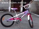 """Велосипед Comanche MOTO W 20"""" pink-white"""