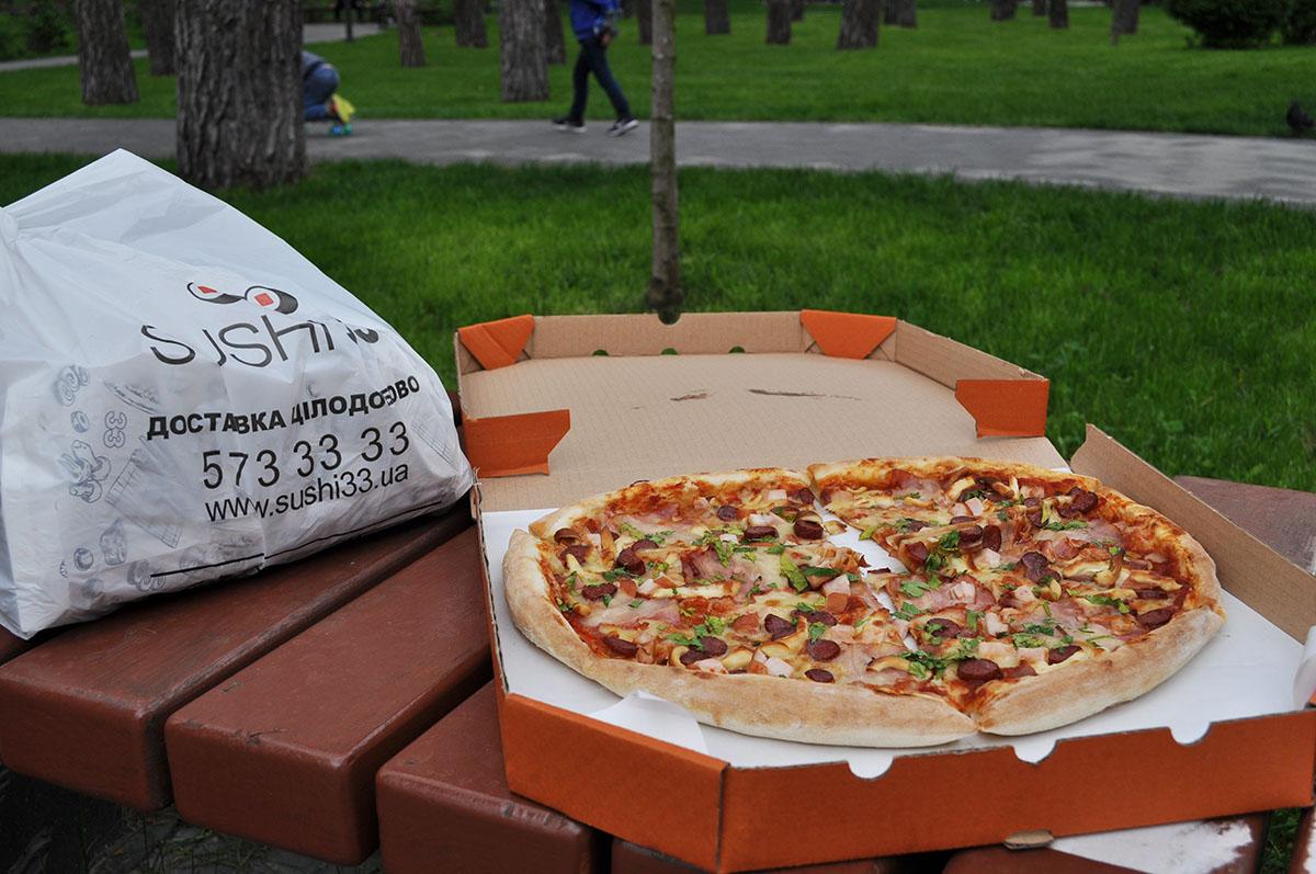 Доставка Суши и Пиццы в Ирпене