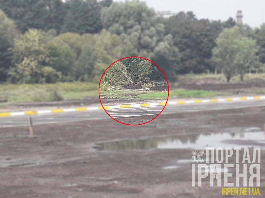 Увага: замість відкриття набережної - знайшли бомбу.