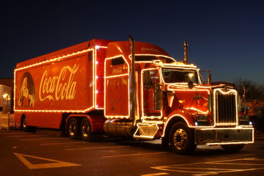 Ірпінь, завтра зустрічай новорічну вантажівку Coca-Cola!