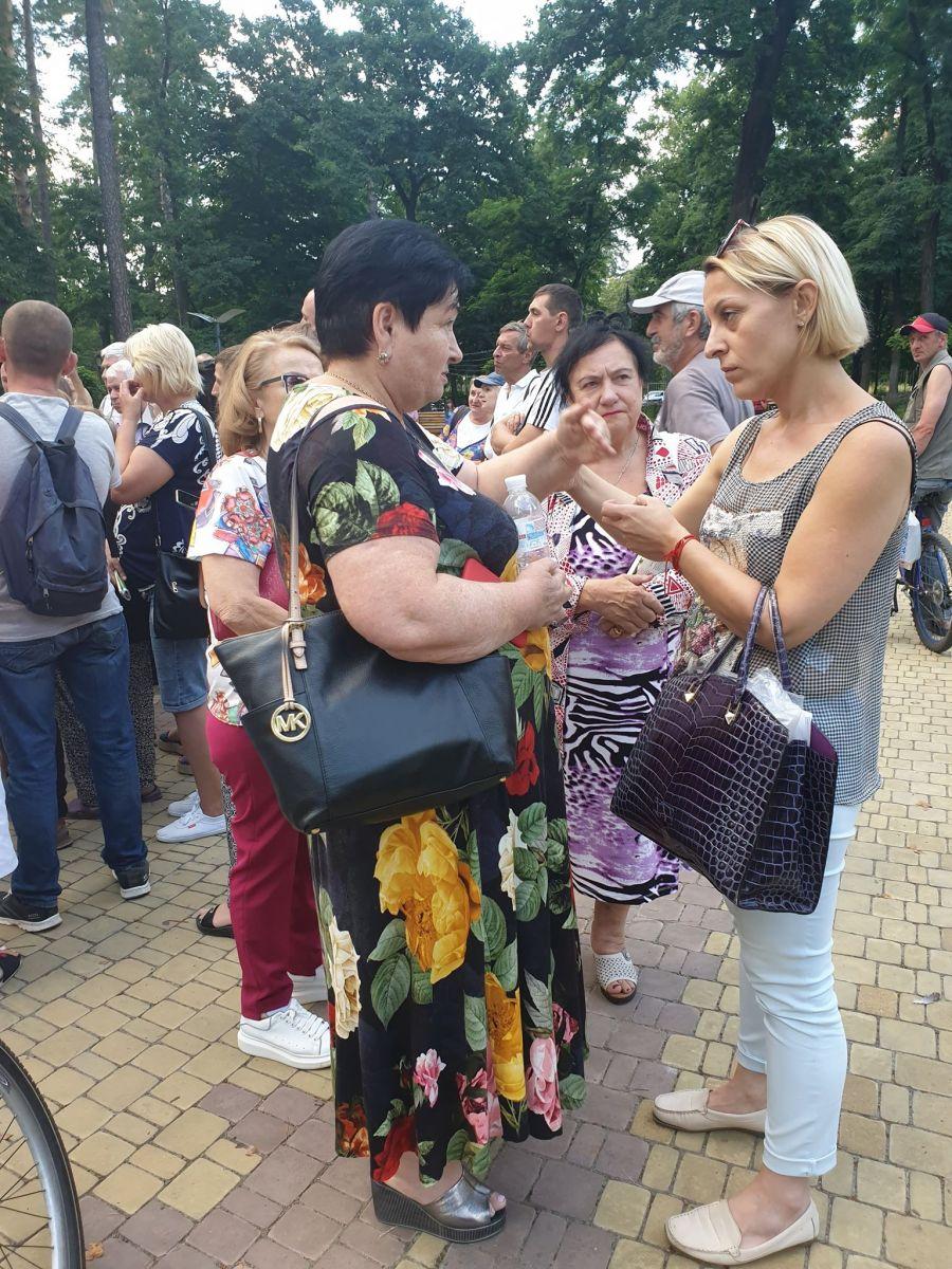 «Нові обличчя» тусувалися серед електорату «Слуги народу» (+ фото)