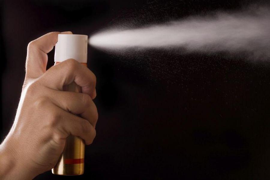 Застосування сльозогінного газу по вул. Шевченка в Ірпені