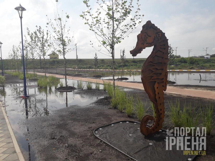 Останні фото реконструкції набережної Ірпеня